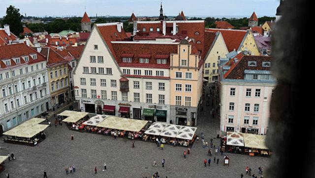 Города мира. Таллин, архивное фото