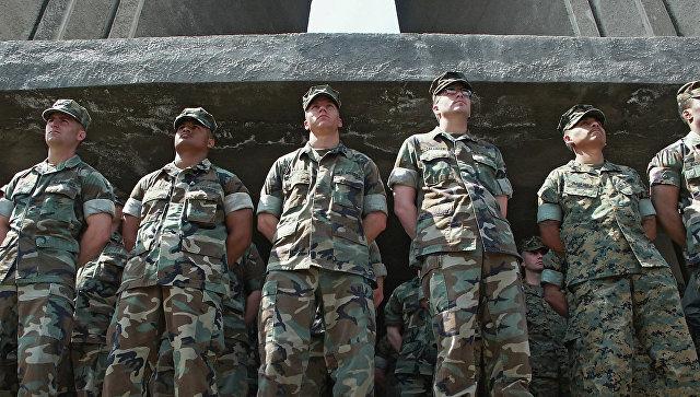 Морские пехотинцы США. Архивное фото