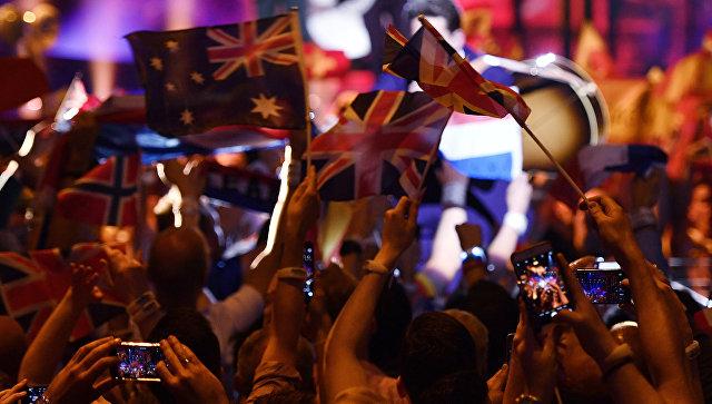 Зрители на финале Евровидения-2016