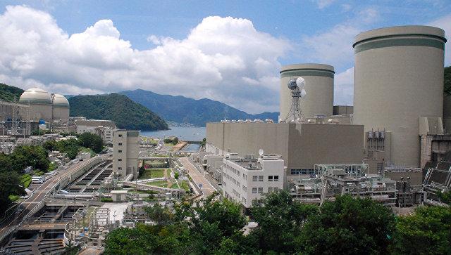 ВЯпонии наэнергоблок АЭС «Такахама» рухнул строительный кран