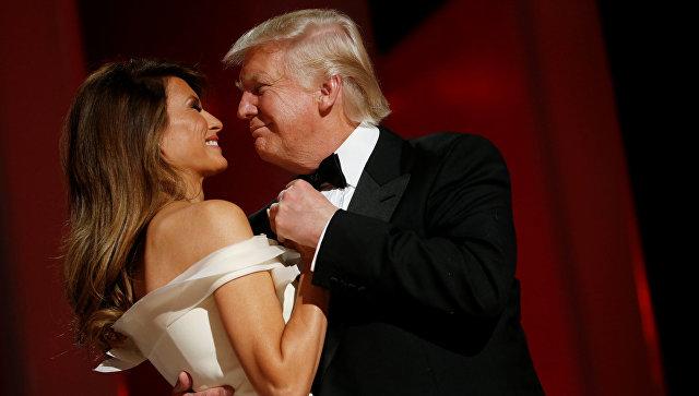 Картинки по запросу Президент США Дональд Трамп с первой леди Меланьей Трамп
