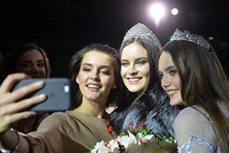 Победительница XIX Республиканского конкурса красоты Мисс Татарстан-2017 Зульфия Шарафеева