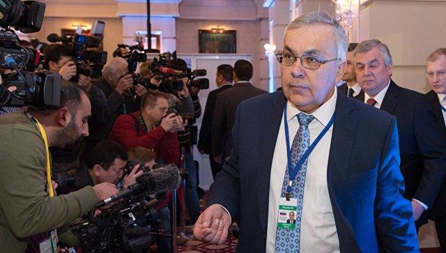 Напереговоры вАстану прибыла оставшаяся часть делегации вооруженной оппозиции Сирии