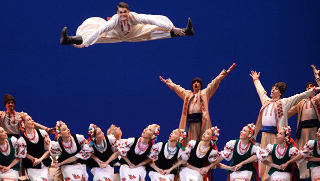 Украинский танец Гопак Украинский танец Гопак. Архивное фото