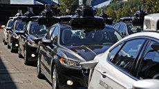 Беспилотные автомобили Uber в Питтсбурге. Архивное фото