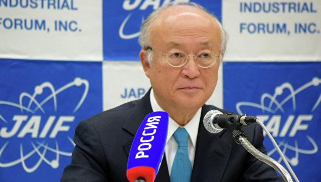 Глава МАГАТЭ Юкий Амано . Архивное фото