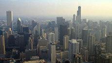 Город Чикаго - штат Иллинойс. Архивное фото