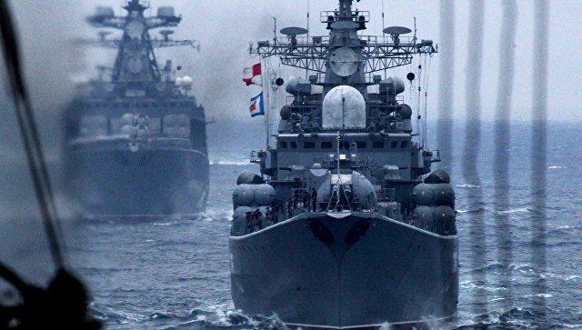 «Адмирал Трибуц» вернулся издальнего плавания воВладивосток