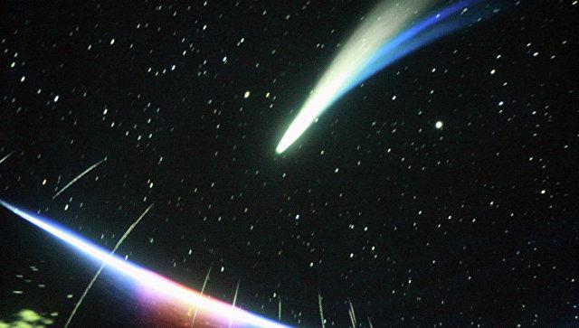 Кадр из фильма в Новосибирском планетарии