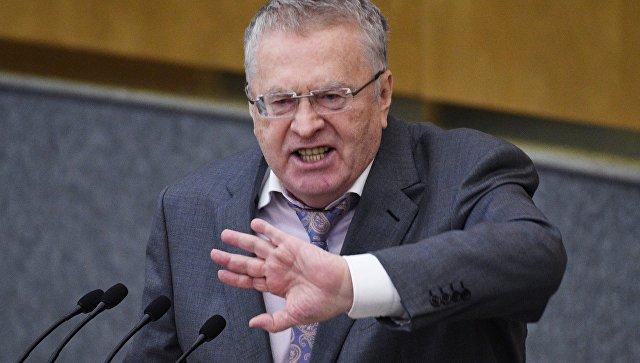 Жириновский предложил уменьшить депутатский корпус натреть