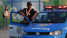 Полицейский автомобиль в Рио-де-Жанейро. Архивное фото