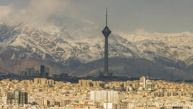 Панорама Тегерана, Иран. Архивное фото
