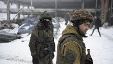 Бойцы ополчения Донецкой народной республики. Архивное фото