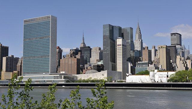 Здание ООН в Нью-Йорке. Архив