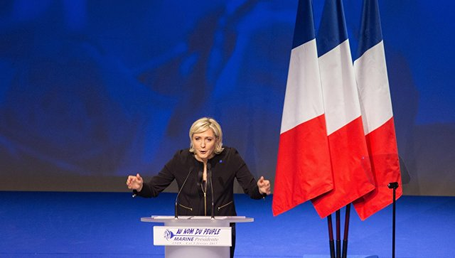 Опрос: Шансы Ле Пен на победу в первом туре выборов во Франции увеличились