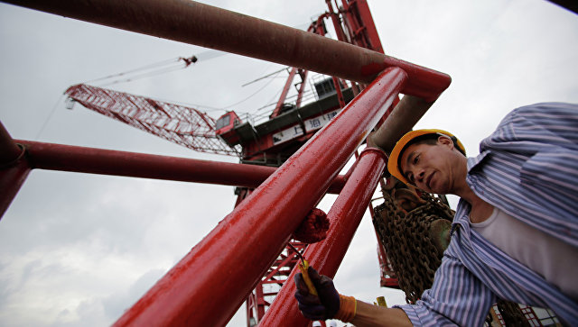 Строительство в Китае. Архивное фото