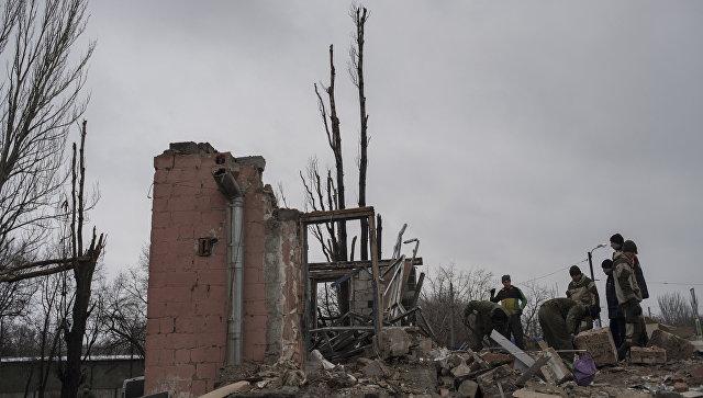 ВДНР сообщили особлюдении режима предотвращения огня вДонбассе