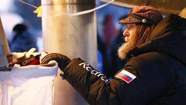 Путешественник Конюхов вылетел изРыбинска навоздушном шаре