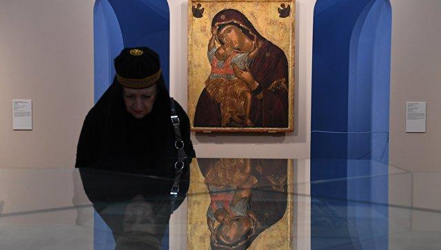 Выставка «Шедевры Византии» открылась вТретьяковской галерее
