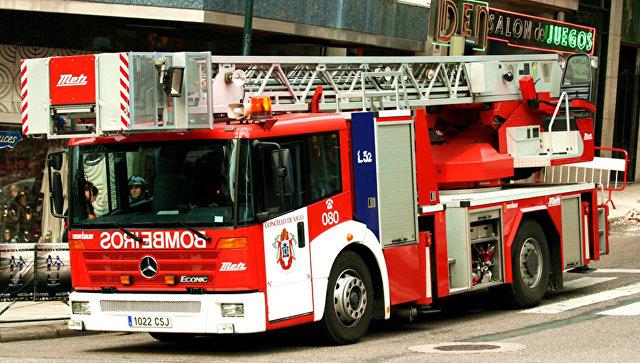 Пожарная машина в Испании. Архивное фото