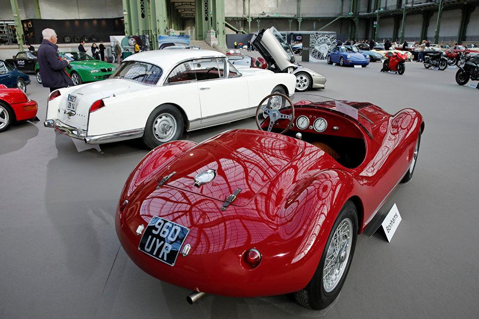 OSCA-Maserati 1.5-Litre Barchetta Evocation на выставке старинных автомобилей аукционного дома Bonhams