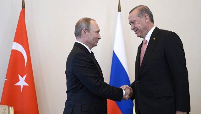 Эрдоган приедет в РФ  для переговоров сПутиным 9марта