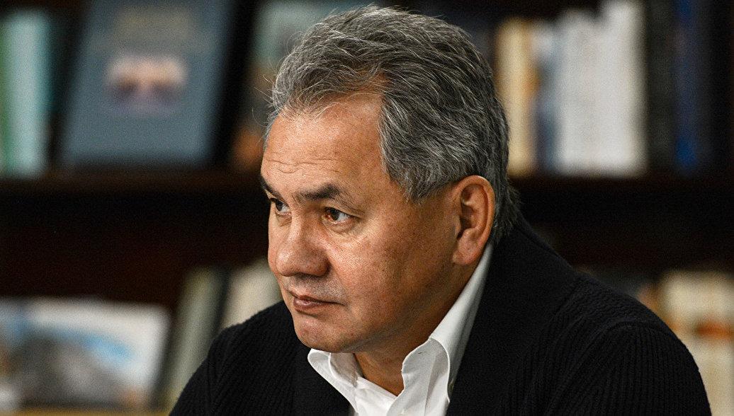 Президент Русского географического общества Сергей Шойгу