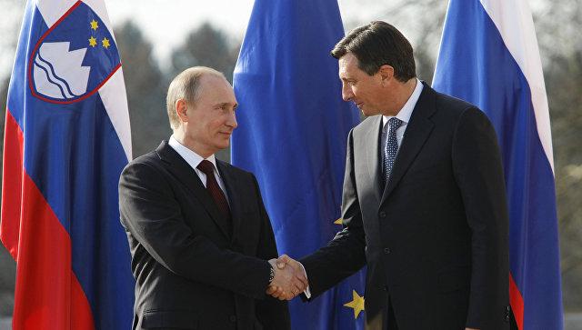 Путин встретится спрезидентом Словении