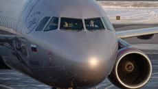 Аэробус А-321 авиакомпании Аэрофлот. Архивное фото