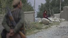Девочка в афганском селе Вакхан. Архивное фото