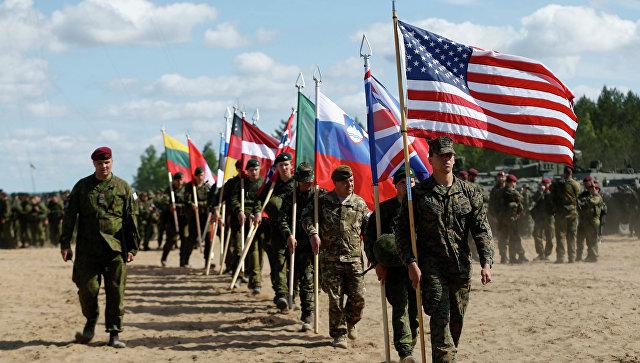 Учения НАТО Удар сабли в Латвии. Архивное фото