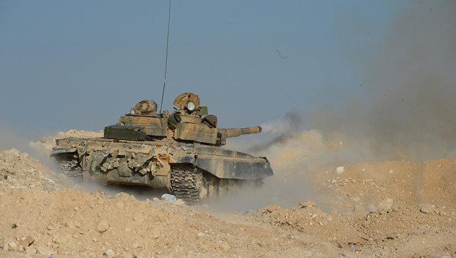 Танк Т-72 в Сирии. Архивное фото