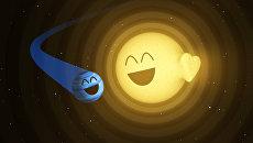 Так художник НАСА представил биение «сердца» звезды под действием планеты