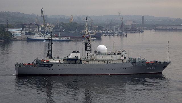Разведывательный корабль ССВ-175 Виктор Леонов