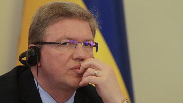 Комиссар Европейского Союза по вопросам расширения и политики соседства Штефан Фюле. Архивное фото