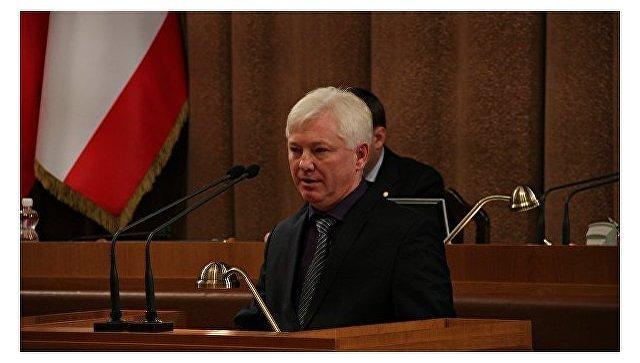 Бывший вице-премьер Крыма Олег Казурин. Архивное фото
