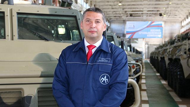 Гендиректор Военно-промышленной компании Александр Красовицкий