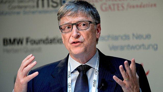 Бывший генеральный директор Microsoft Билл Гейтс. Архивное