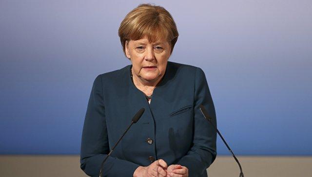 Ангела Меркель на конференции по безопасности в Мюнхене