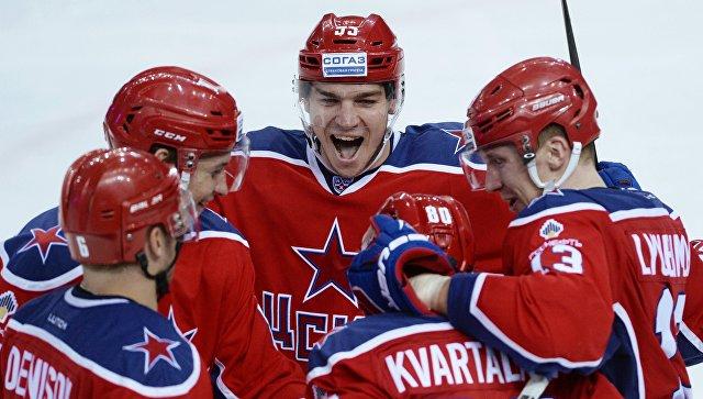 ЦСКА одержал победу стабильный чемпионат КХЛ изавоевал Кубок материка