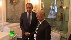 Лавров перед встречей с генсеком МАГАТЭ проверил комнату на прослушку