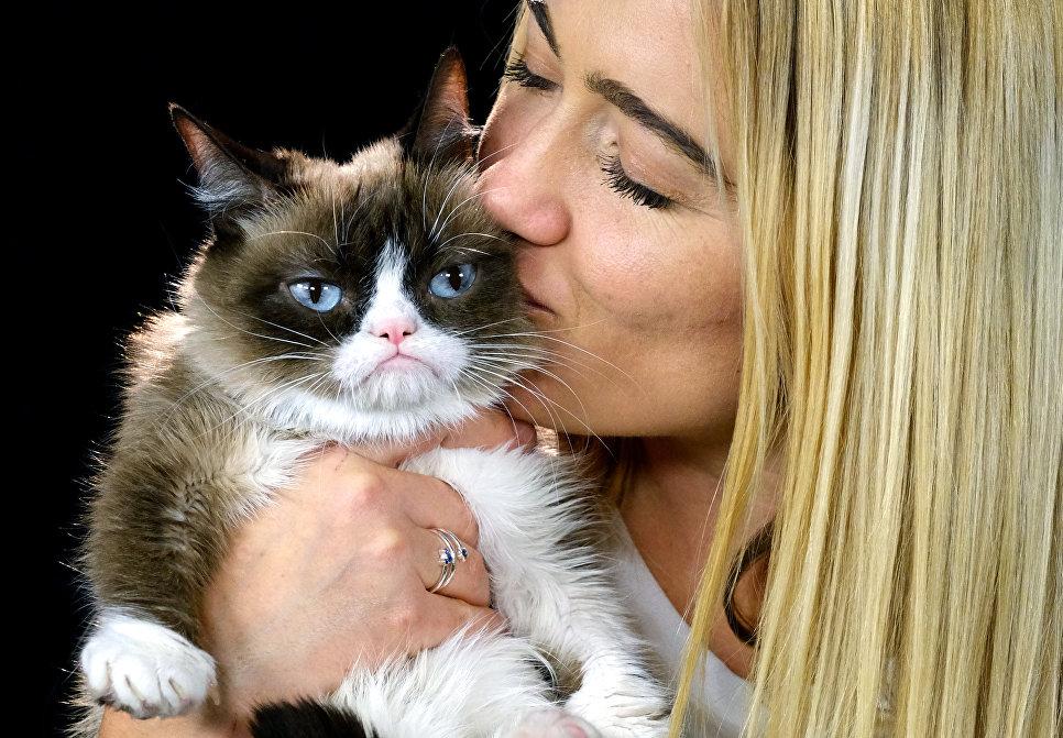Табата Бандесен и ее Сердитый кот