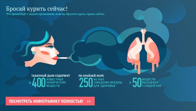 Бросай курить сейчас!