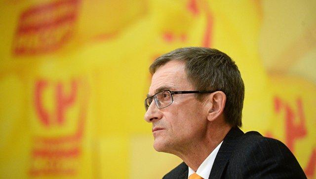 Председатель партии Справедливая Россия Николай Левичев. Архивное фото