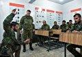 Военнослужащие вооруженных сил РФ и Сирии на занятии в Международном противоминном центре Вооруженных Сил РФ в Алеппо