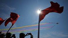 Военный парад в Китае. Архивное фото