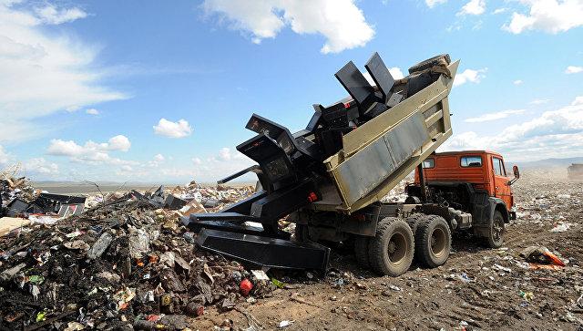 Утилизация отходов. Архивное фото