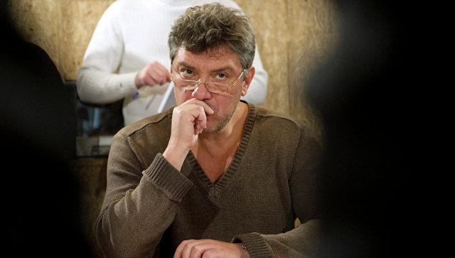 Политик Борис Немцов. Архивное фото