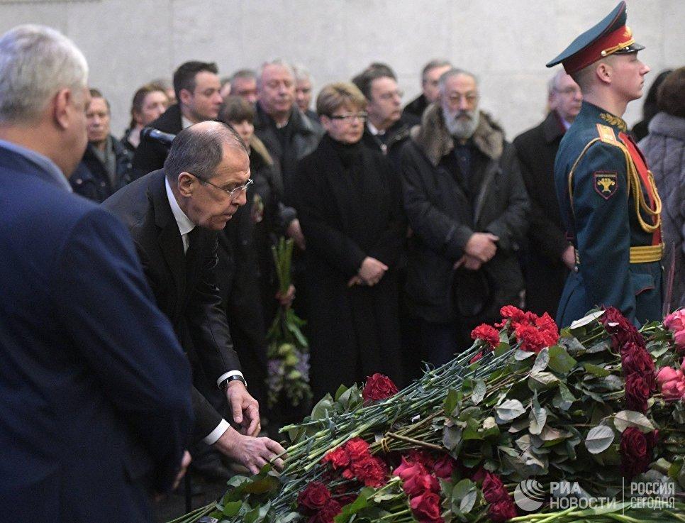 Похороны Виталия Чуркина состоятся 24февраля