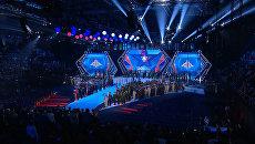 Факелоносцы, шоу фонтанов и поднятие флага – церемония открытия военных игр в Сочи